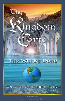 "Poster A3 ""Thy Kingdom Come"" James Nesbit"
